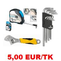 Kõik asjad 5 EUR/TK